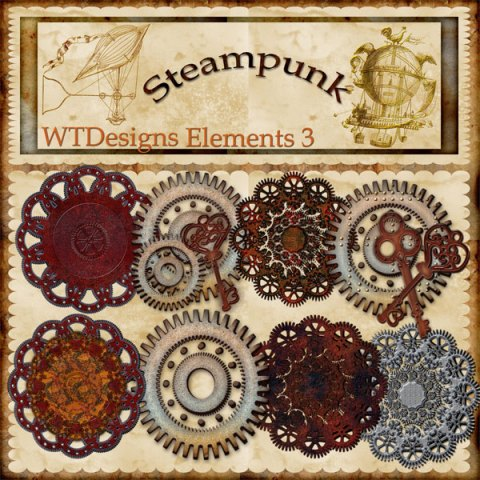 Steampunk Elements 3
