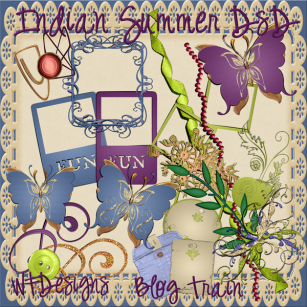 indian summer blog train kit pu