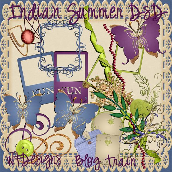 indian summer blog train kit pu